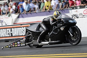 Pro Stock motorcycle veteran Karen Stoffer aims for more positive steps