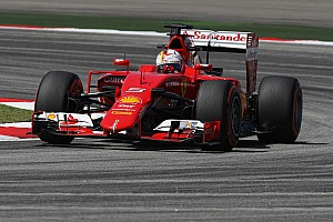 Ferrari: Front row of the grid for Vettel in Malaysia