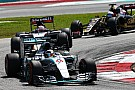 Double podium for Mercedes in enthralling Malaysian GP