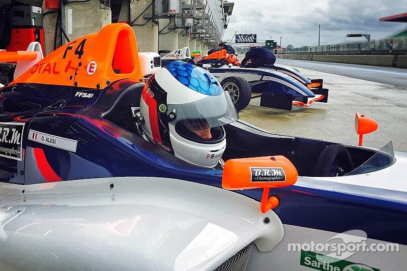 Giuliano Alesi se prepara para la F4 Francesa