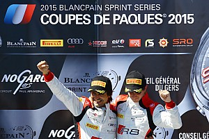Blancpain Sprint Qualifying report Ortelli and Richelmi win Qualifying Race