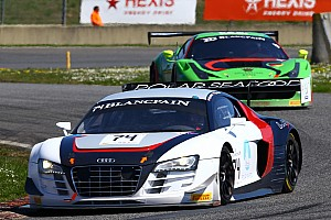 Blancpain Sprint Race report Blancpain debut for Fjordbach in Nogaro