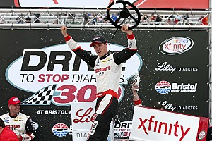 NASCAR XFINITY Race report Logano dominates at Bristol