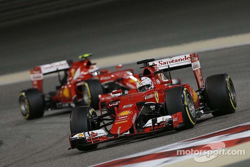 Día frustrante para Sebastian Vettel