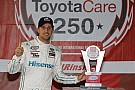 Denny Hamlin delivers Toyota's 100th career NXS win