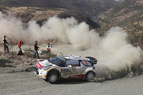 Meeke extends Argentina lead, despite scares