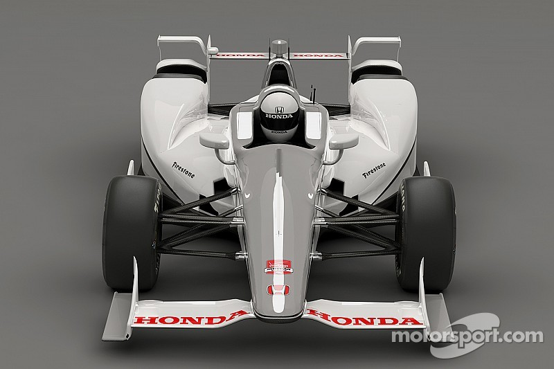 Honda shows off its Indy 500 challenger