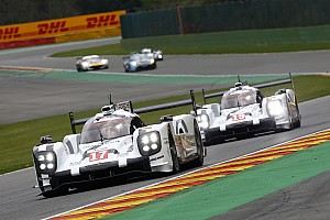WEC Race report Porsche leads Spa at halfway point