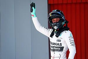 Formula 1 Qualifying report Spanish GP: Rosberg ends Hamilton pole run