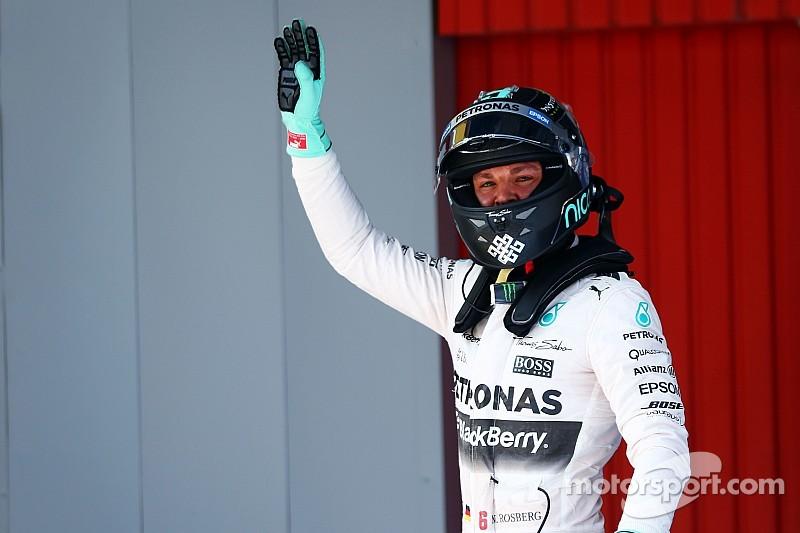 Spanish GP: Rosberg ends Hamilton pole run