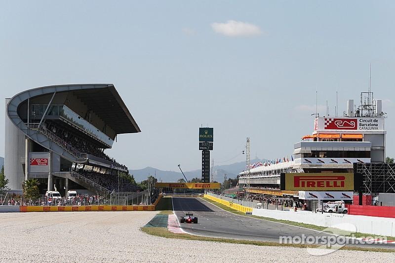 First in-season F1 test kicks off at Barcelona