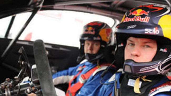 Raikkonen sbatte subito all'Arctic Rally