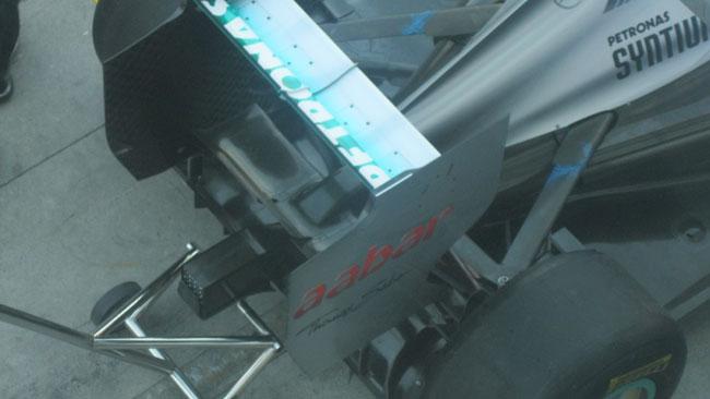 Un cambio ultra-compatto per la Mercedes AMG W04