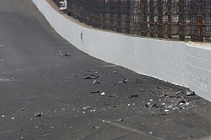 IndyCar Breaking news Newgarden crash caused by cut tire