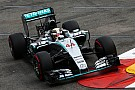 Mercedes' Lewis claims first ever pole position in Monaco