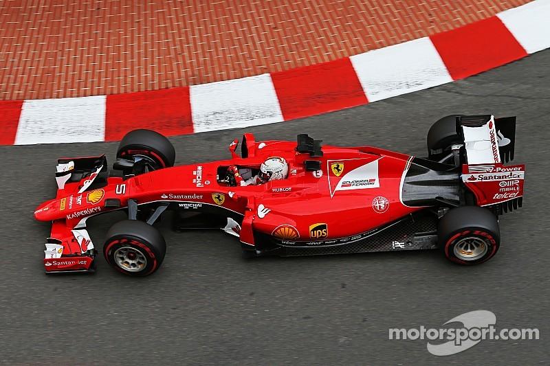Ferrari: Vettel just behind Mercedes on qualifying for the Monaco GP