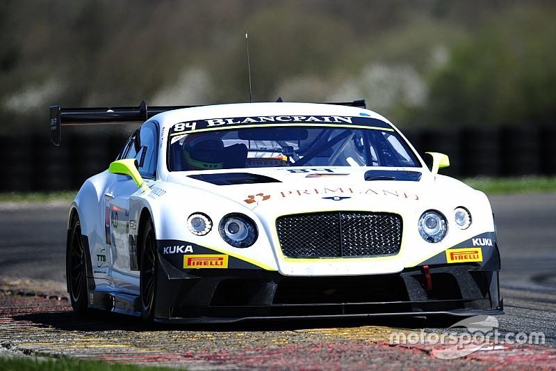 Double duty for Bentley Team HTP