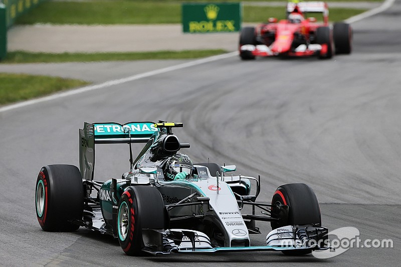 Nico Rosberg, contento con el segundo lugar