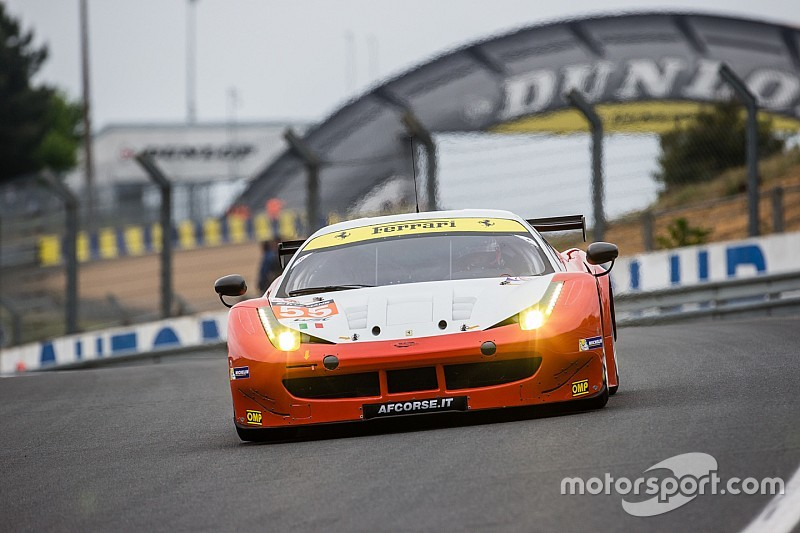 "Five AF Corse Ferrari 458's to dream again ""Le Mans"""