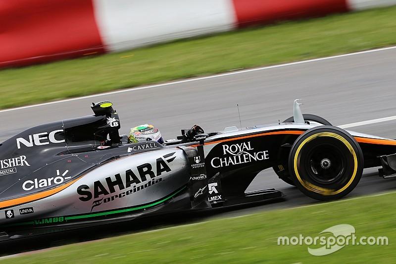 Perez gets engine boost for Austrian GP