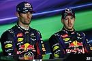 Webber culpa má gestão da Red Bull por guerra com Vettel