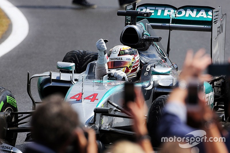"""Hamilton ecstatic after """"perfect call"""" pitstop"""