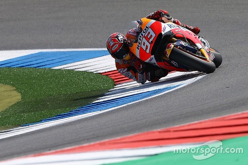Márquez ve un avance en su moto