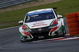 WTCC Qualifying report Honda Civics secure second and third row in 'busy' Portuguese qualifying session