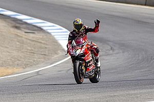 World Superbike Qualifying report Davies claims career-first Superpole at Laguna