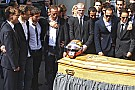 Family pays funeral tribute to Bianchi's 'courage, strength and dignity'