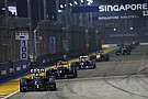 Modifications made to Singapore GP circuit