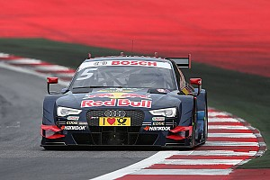 DTM Qualifying report Spielberg DTM: Ekstrom on pole in wet Sunday qualifying
