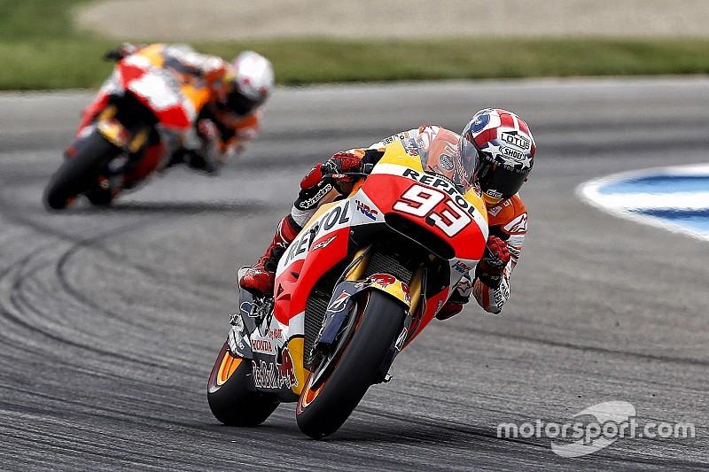 Márquez llega con mucha confianza al GP de Brno