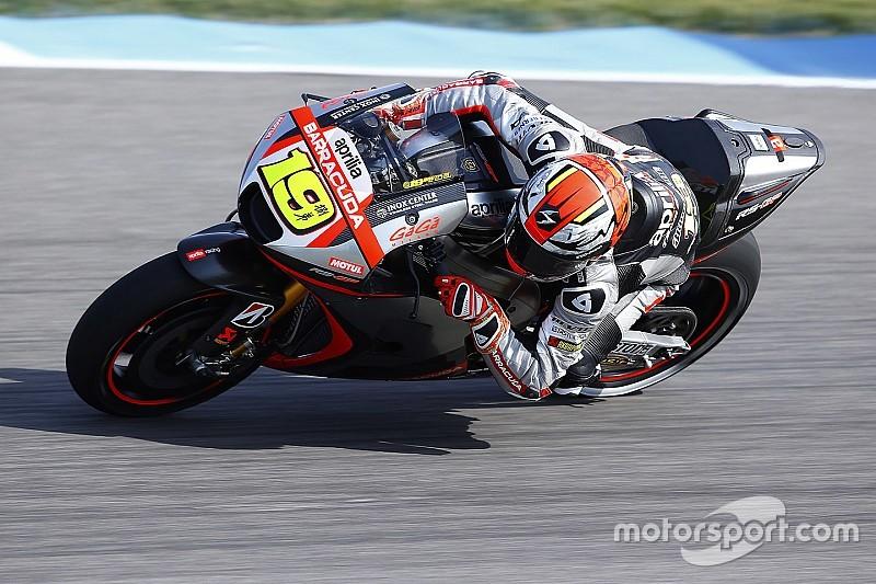 Aprilia tendrá un nuevo chasis en Brno