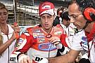 Dovizioso tiene problemas con su Ducati.