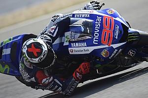 MotoGP Practice report Brno MotoGP: Lorenzo dominates, Rossi completes Yamaha 1-2