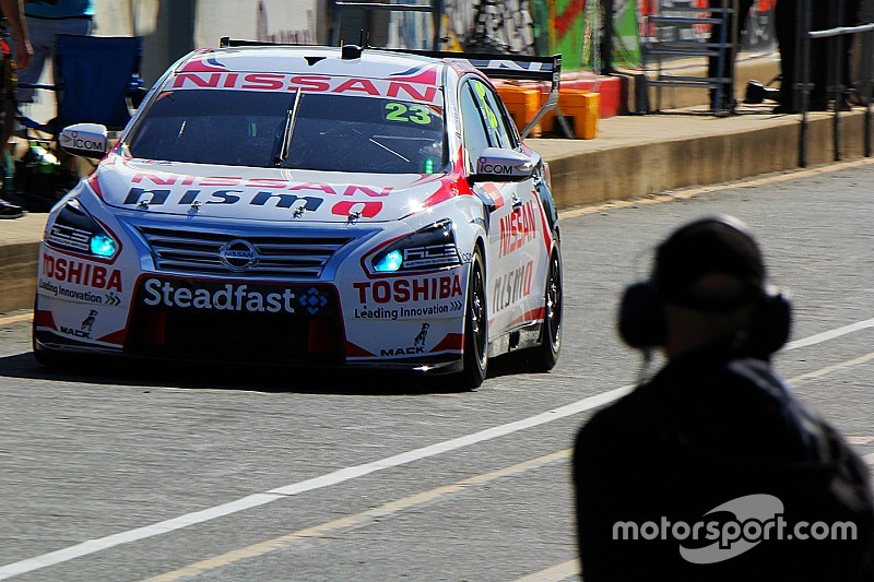 Fiore puts Nissan on top in co-driver session