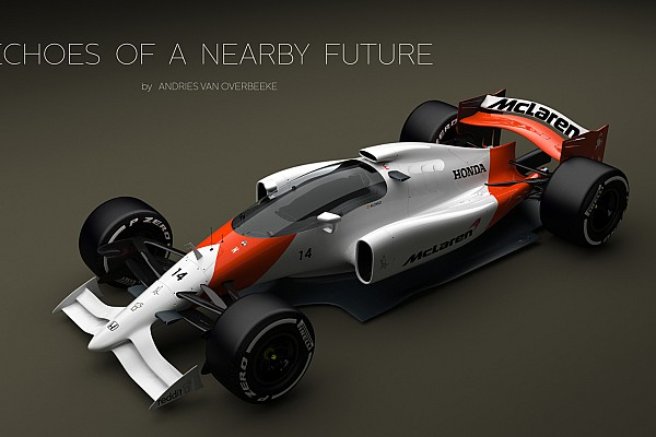 Designer projeta carros de F1 com cockpits cobertos
