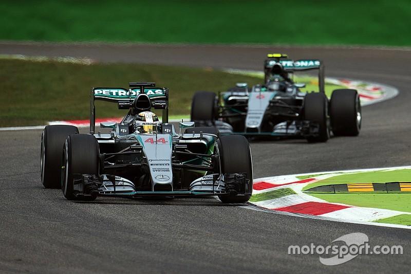 Hamilton aguarda la investigación por el motor de Rosberg