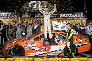 NASCAR Sprint Cup Race report Edwards victorious in Southern 500