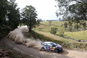 Rally Australia, Day 2: Ogier takes slim lead; Meeke furious