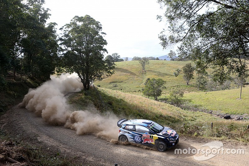 Rally Australia, Day 2: Ogier takes slim lead; Meeke furious