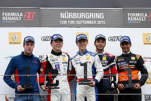 Formula Renault Results First rookie trophy for Daruvala in Eurocup