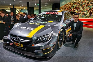 DTM Breaking news Mercedes unveils 2016 DTM car in Frankfurt