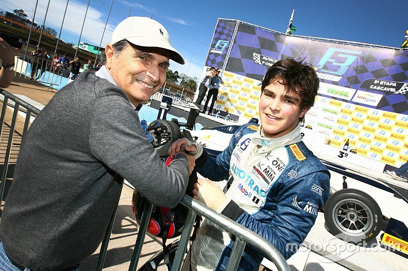 "Pedro Piquet coming to Europe ""ready or not"", says father Nelson"