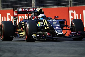 Formula 1 Qualifying report  Grosjean qualifies tenth and  Maldonado eighteenth for tomorrow's Singapore GP