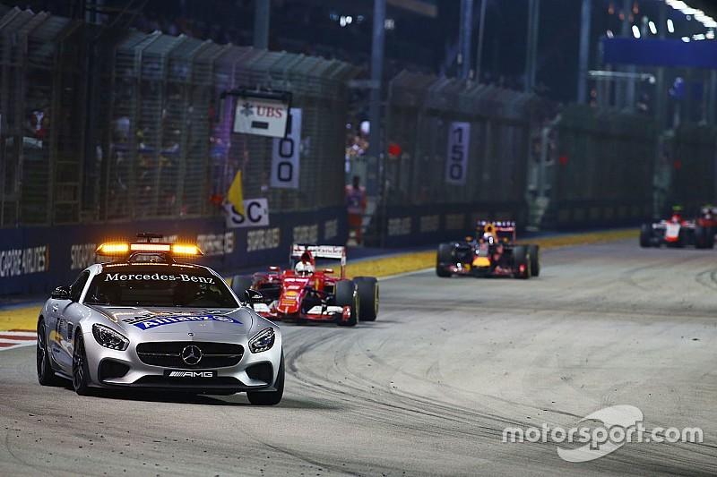 Cárcel para el intruso del Gran Premio de Singapur