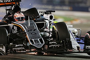 Formula 1 Race report Sahara Force India scored six points in the Singapore GP