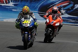 Rossi likens Lorenzo fight to Stoner rivalry