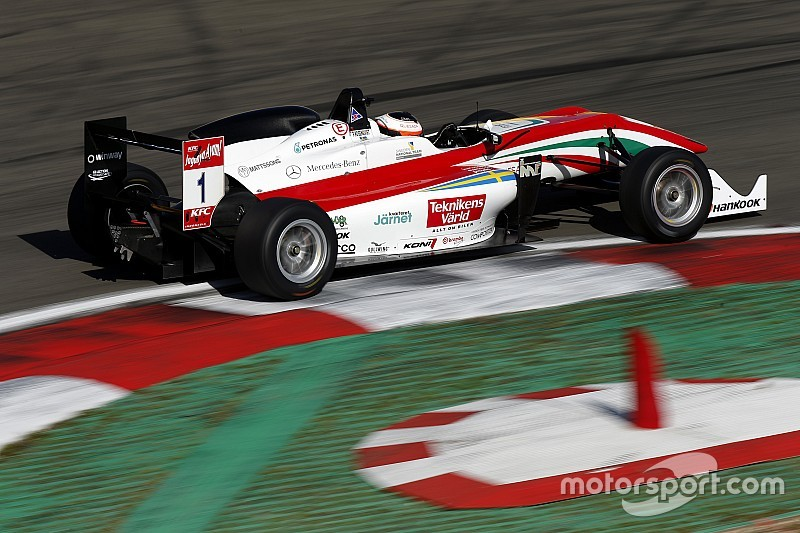 Nurburgring F3: Rosenqvist completes qualifying sweep